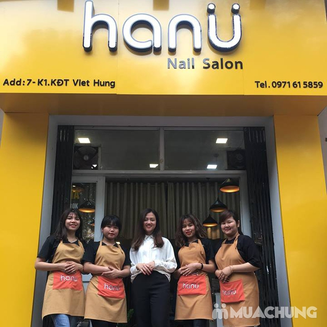 Combo sơn gel Korea + chà gót chân giá chỉ 99K tại Hanu Nail  - 21