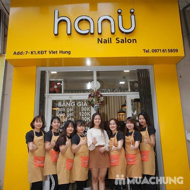 Combo sơn gel Korea + chà gót chân giá chỉ 99K tại Hanu Nail  - 20