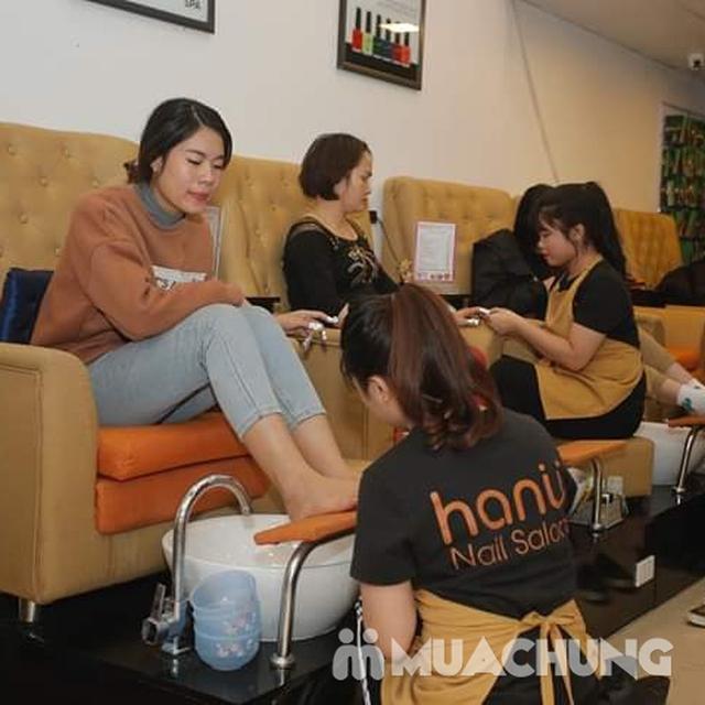 Combo sơn gel Korea + chà gót chân giá chỉ 99K tại Hanu Nail  - 15