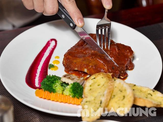 Combo BBQ Ribs thượng hạng tại Nhà hàng Wine & Steak House Hồ Tây - 4