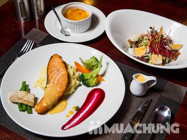 Combo Salmon hảo hạng dành cho 1 người tại Nhà hàng Wine & Steak House Hồ Tây - 3