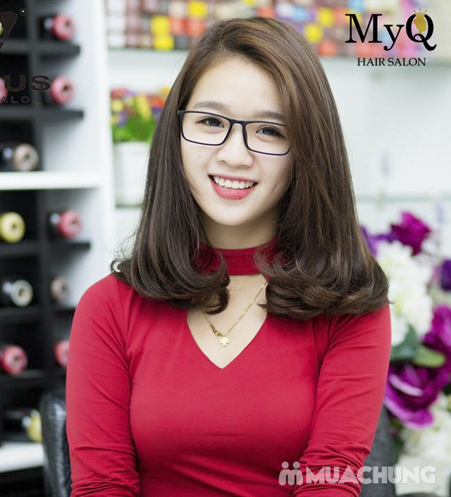 Chọn 1 trong 3 gói làm tóc chuyên nghiệp với sản phẩm Sophia Hàn Quốc tại MyQ Hair Salon - 8