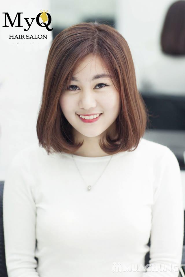 Chọn 1 trong 3 gói làm tóc chuyên nghiệp với sản phẩm Sophia Hàn Quốc tại MyQ Hair Salon - 12