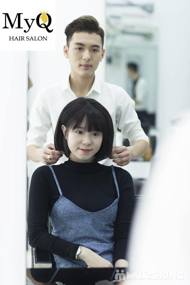 Chọn 1 trong 3 gói làm tóc chuyên nghiệp với sản phẩm Sophia Hàn Quốc tại MyQ Hair Salon - 9