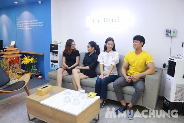 Bọc răng sứ Titan-Crom-Niken + Miễn phí chụp phim Panorama tại Nha Khoa Thẩm Mỹ Quốc Tế Uni Dental - 3