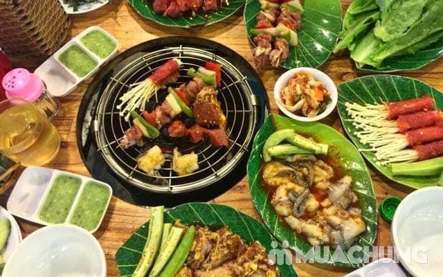 Buffet lẩu hoặc nướng Menu 129K siêu hấp dẫn + free coca tại NH Sen Vàng - 14
