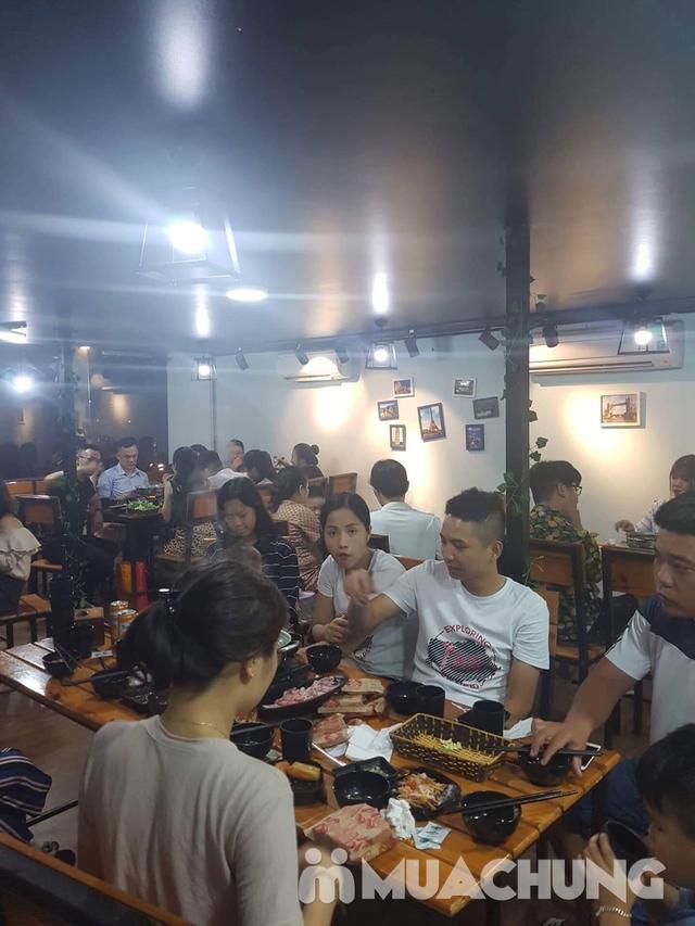 Buffet lẩu hoặc nướng Menu 129K siêu hấp dẫn + free coca tại NH Sen Vàng - 18