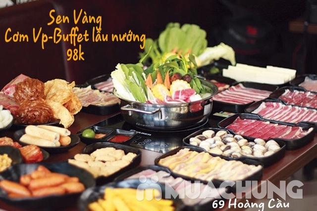 Buffet lẩu hoặc nướng Menu 129K siêu hấp dẫn + free coca tại NH Sen Vàng - 13