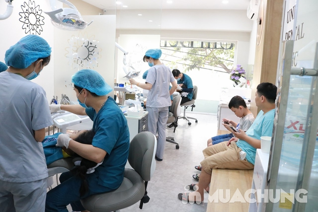 Bọc răng sứ Titan-Crom-Niken + Miễn phí chụp phim Panorama tại Nha Khoa Thẩm Mỹ Quốc Tế Uni Dental - 5