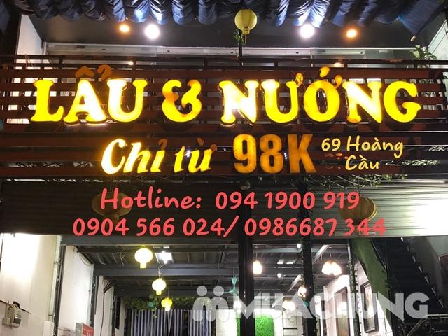Buffet lẩu hoặc nướng Menu 129K siêu hấp dẫn + free coca tại NH Sen Vàng - 22