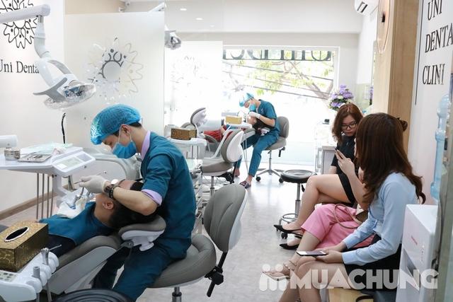 Bọc răng sứ Titan-Crom-Niken + Miễn phí chụp phim Panorama tại Nha Khoa Thẩm Mỹ Quốc Tế Uni Dental - 2