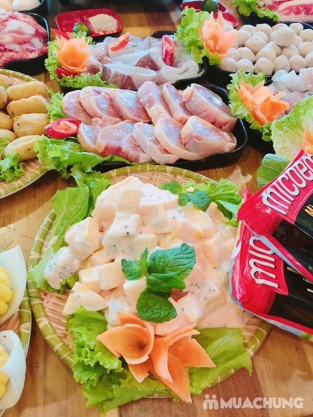Buffet lẩu hoặc nướng Menu 129K siêu hấp dẫn + free coca tại NH Sen Vàng - 10
