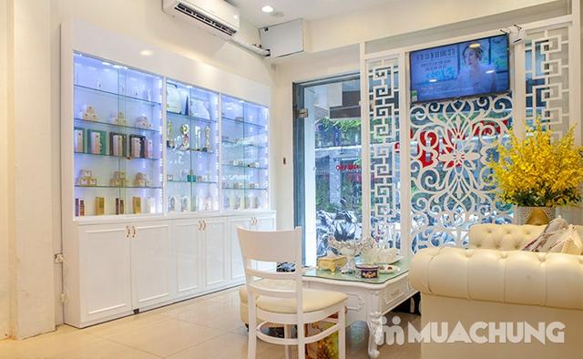 Tắm trắng noãn thực vật/ Cấy tinh chất DNA cá hồi căng bóng/ Trị mụn nám tại Emily Trịnh Beauty&Spa - 15