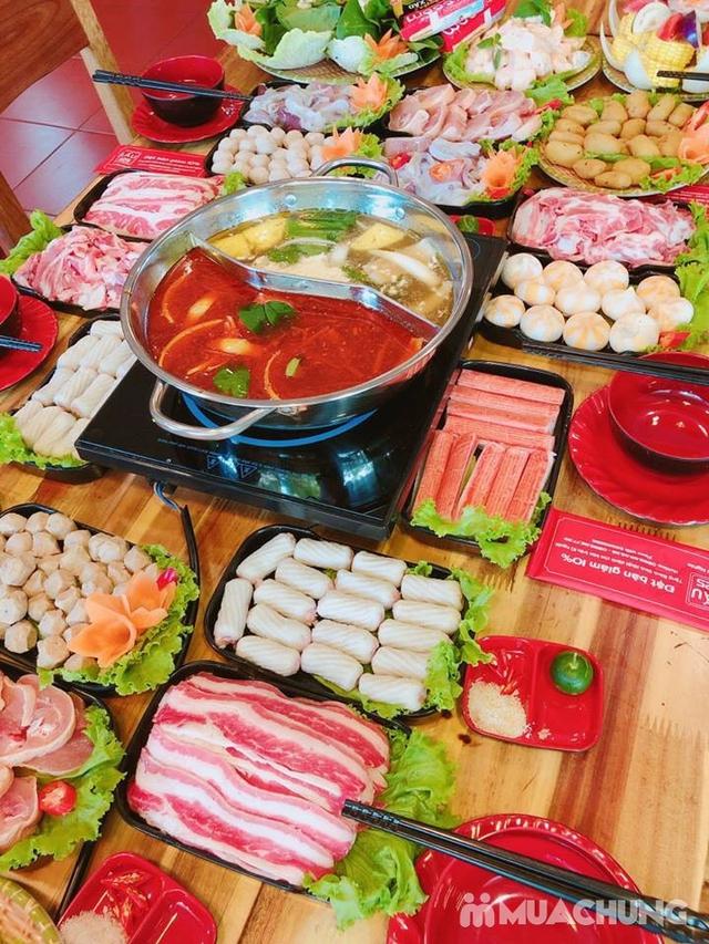 Buffet lẩu hoặc nướng Menu 129K siêu hấp dẫn + free coca tại NH Sen Vàng - 12