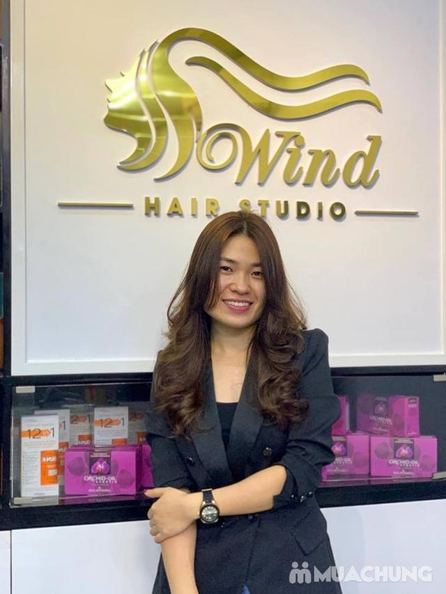 Trọn gói Cắt - Nhuộm - Dưỡng - Phục hồi - Tạo kiểu tại Wind Hair Studio - 14