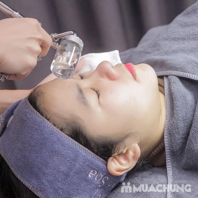 Sửa móng + sơn gel + Massage da mặt + đắp mặt nạ tinh chất tại Anna Beauty - 19