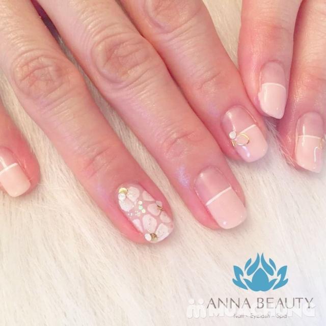 Sửa móng + sơn gel + Massage da mặt + đắp mặt nạ tinh chất tại Anna Beauty - 12