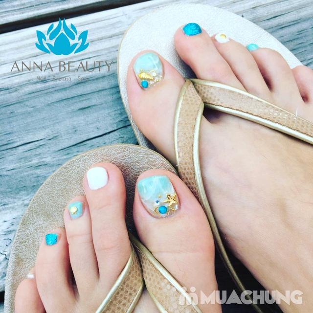 Combo Sửa + sơn móng tay và chân tại Anna Beauty Spa - 9