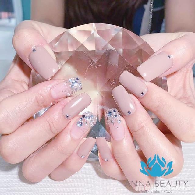 Sửa móng + sơn gel + Massage da mặt + đắp mặt nạ tinh chất tại Anna Beauty - 9
