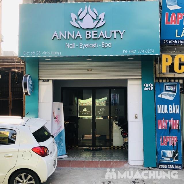 Sửa móng + sơn gel + Massage da mặt + đắp mặt nạ tinh chất tại Anna Beauty - 18