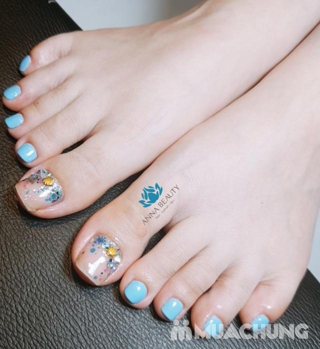 Combo Sửa + sơn móng tay và chân tại Anna Beauty Spa - 10