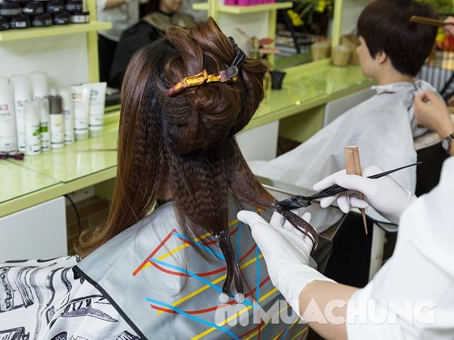 Trọn gói Cắt + Gội + Uốn/Ép/Nhuộm/Phủ bóng + Sấy tạo kiểu tại Long Nguyễn Hair Salon - 6