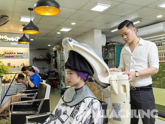 Dịch vụ hấp phục hồi tóc Olaplex tại Long Nguyễn Hair Salon - 9
