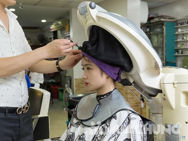 Dịch vụ hấp phục hồi tóc Olaplex tại Long Nguyễn Hair Salon - 10