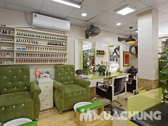 Combo Cắt + Gội + Vuốt Sáp cho nam tại Long Nguyễn Hair Salon - 13