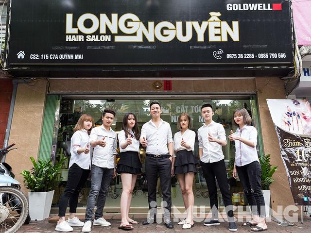 Combo Cắt + Gội + Vuốt Sáp cho nam tại Long Nguyễn Hair Salon - 11