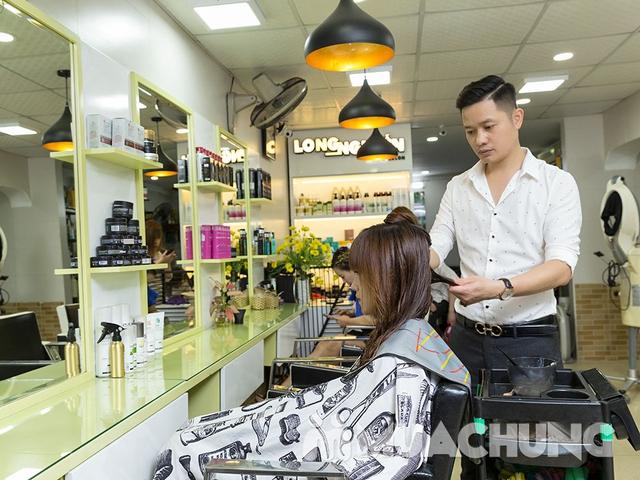 Dịch vụ hấp phục hồi tóc Olaplex tại Long Nguyễn Hair Salon - 8