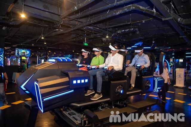 Combo nhiều ưu đãi:1 ngày vui chơi Thế giới ảo VR Games+chèo thuyền Kayak - Flamingo Đại Lải Resort - 24