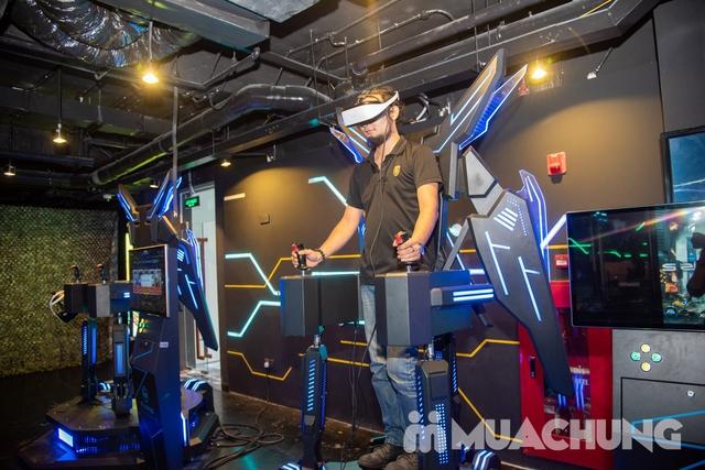 Combo nhiều ưu đãi:1 ngày vui chơi Thế giới ảo VR Games+chèo thuyền Kayak - Flamingo Đại Lải Resort - 30
