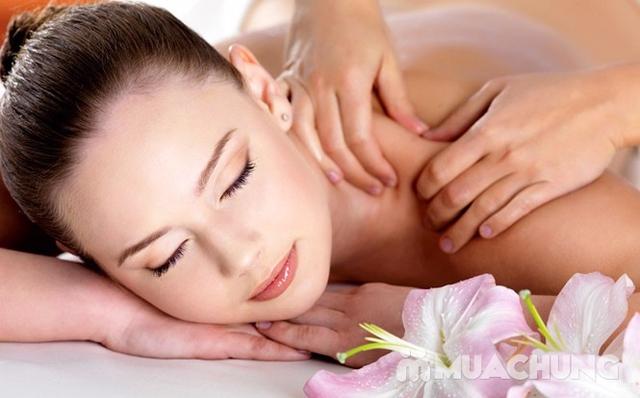 Massage body với tinh dầu đá nóng tại Sunrise Cosmetics &Spa - 6
