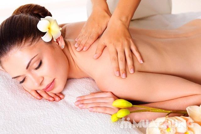 Massage body với tinh dầu đá nóng tại Sunrise Cosmetics &Spa - 4