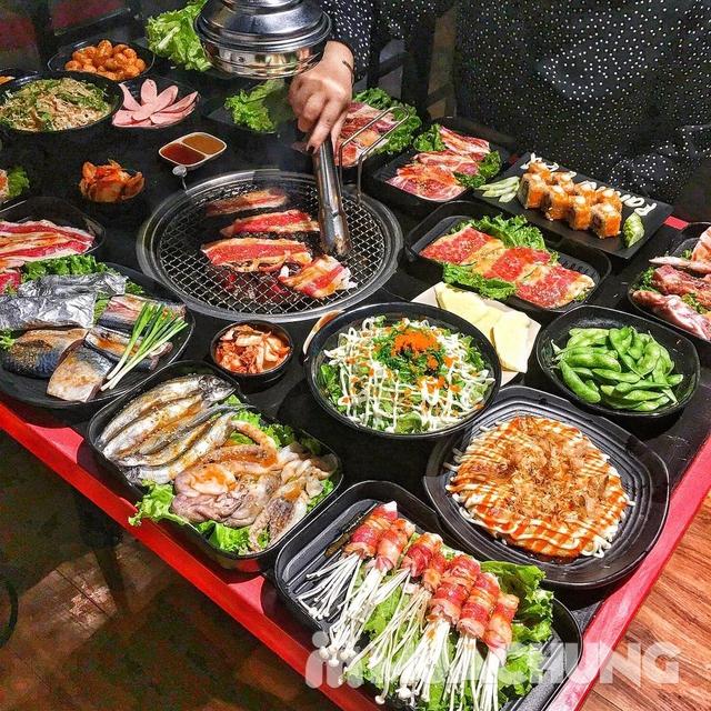 Buffet Nướng thả ga - Menu Nhiều món tại NH Panda BBQ - 10