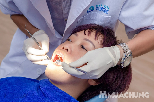Combo Lấy cao răng + Đánh bóng + Tư vấn vệ sinh răng miệng tại Nha Khoa Thẩm Mỹ SunShine - 8