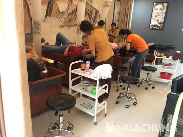 Gội đầu dưỡng sinh, đả thông kinh lạc chăm sóc vùng đầu khỏe mạnh tại Dưỡng tâm MV Beauty  - 12