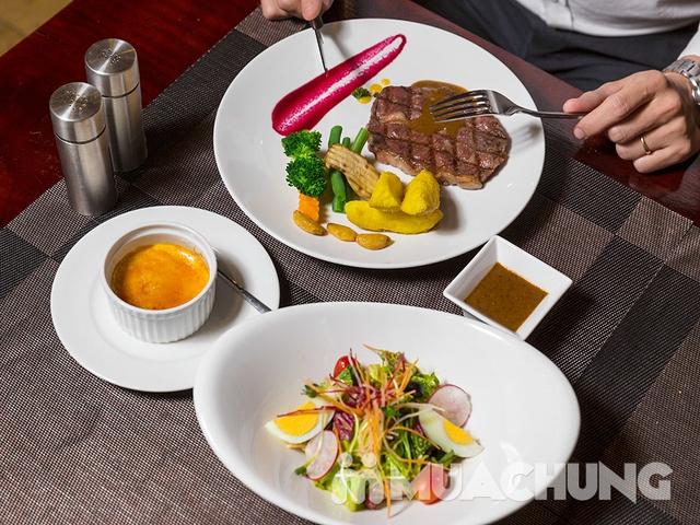 Thưởng thức Combo Steak Thượng hạng Cho 01 Người tại Nhà hàng Wine & Steak House Hồ Tây - 7