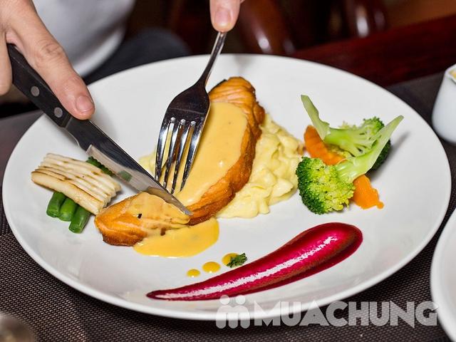 Combo Salmon hảo hạng dành cho 1 người tại Nhà hàng Wine & Steak House Hồ Tây - 9