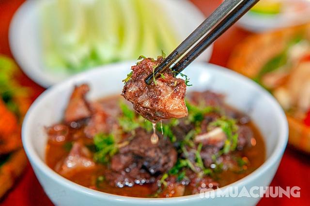 Mẹt Lợn Mán đầy đặn 8 món ngon hấp dẫn cho 04 người tại Nhà Hàng Hoa Ban Quán - 22