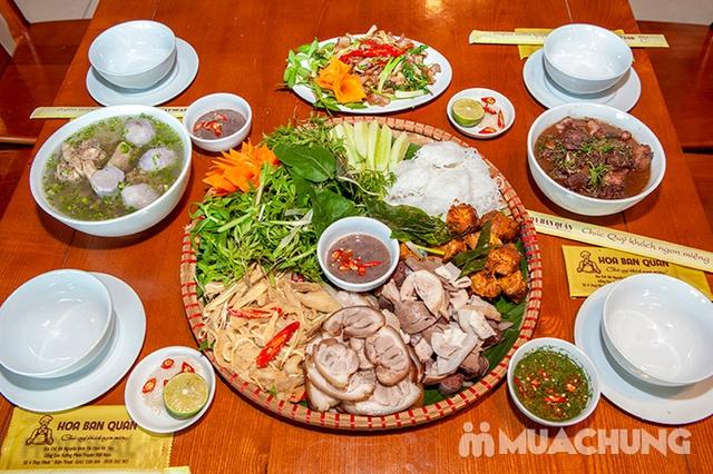 Mẹt Lợn Mán đầy đặn 8 món ngon hấp dẫn cho 04 người tại Nhà Hàng Hoa Ban Quán - 12