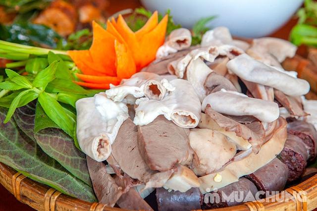 Mẹt Lợn Mán đầy đặn 8 món ngon hấp dẫn cho 04 người tại Nhà Hàng Hoa Ban Quán - 15