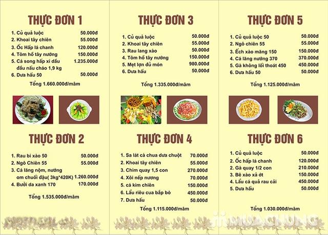 Mẹt Lợn Mán đầy đặn 8 món ngon hấp dẫn cho 04 người tại Nhà Hàng Hoa Ban Quán - 35
