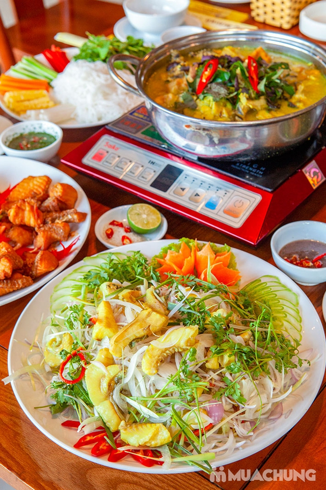 Set cá lăng đủ món cho 04 người tại Nhà Hàng Hoa Ban Quán - 13