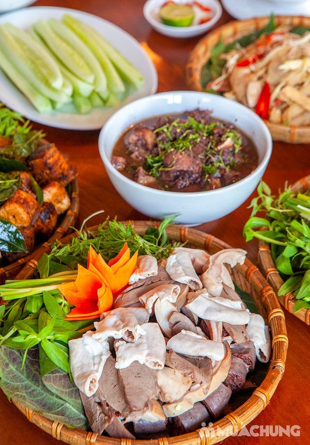 Mẹt Lợn Mán đầy đặn 8 món ngon hấp dẫn cho 04 người tại Nhà Hàng Hoa Ban Quán - 18