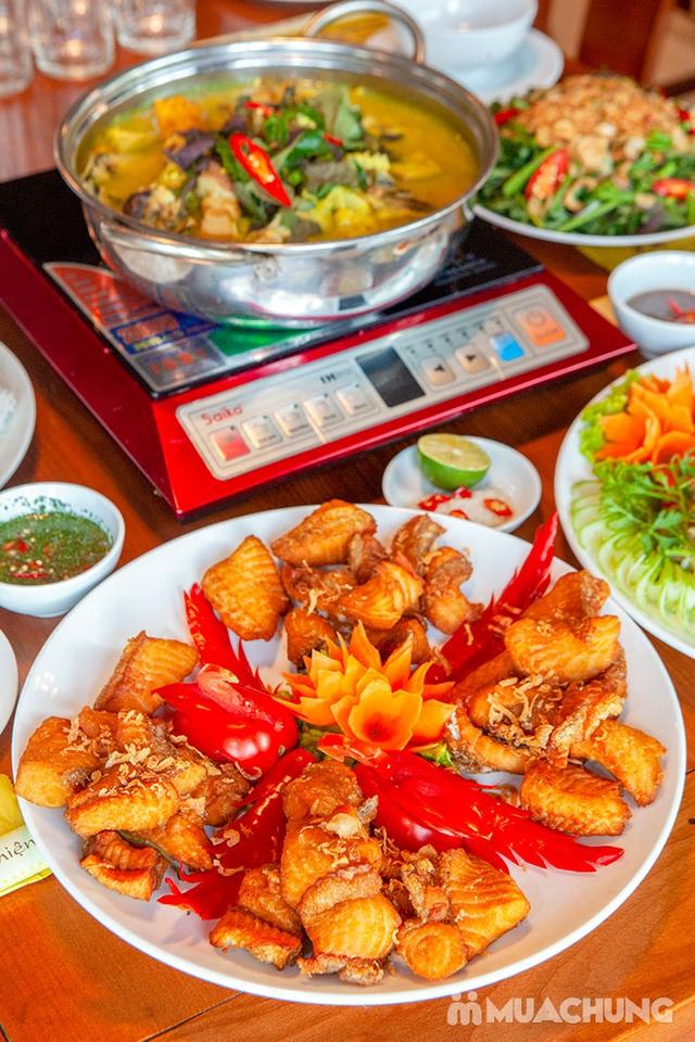 Set cá lăng đủ món cho 04 người tại Nhà Hàng Hoa Ban Quán - 14