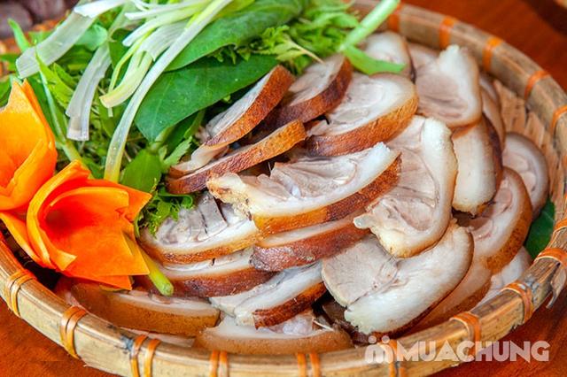 Mẹt Lợn Mán đầy đặn 8 món ngon hấp dẫn cho 04 người tại Nhà Hàng Hoa Ban Quán - 14