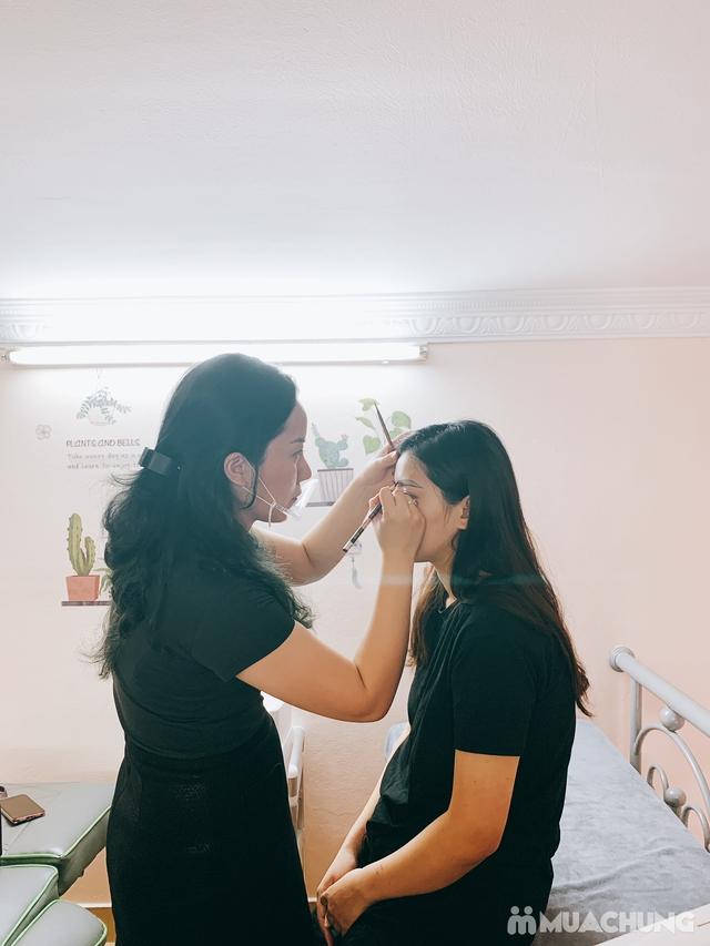 Điêu khắc lông mày tự nhiên + tặng 1 lần nối mi hoặc uốn mi tại Lilian Spa - 8