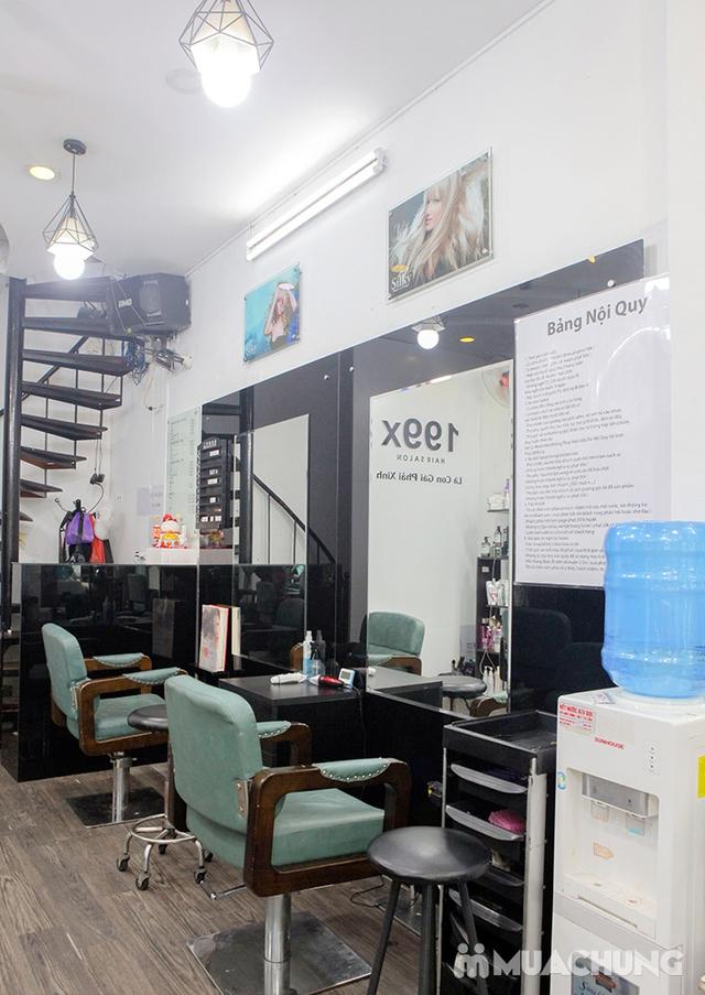 Trọn Gói Gội + Cắt + Uốn/Nhuộm/Ép - Tặng Hấp Phục hồi bảo vệ, Dưỡng óng mượt Tại 199X Hair Salon - 32